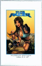 Tomb Raider #40 Museum Edition Wizard World Philly Greg Land Cover COA #2 Ltd 25 Jay Company Comics